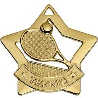 Mini Star Tennis Medal</br>AM727G